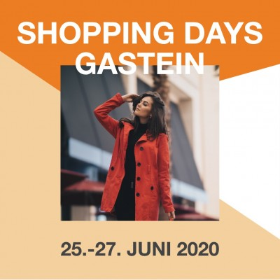 Shopping Days von 25.-27. Juni